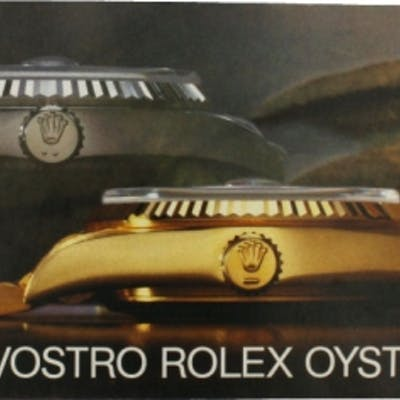 Rolex Parts & Accessories Brochure Il Vostro Rolex Oyster with Two