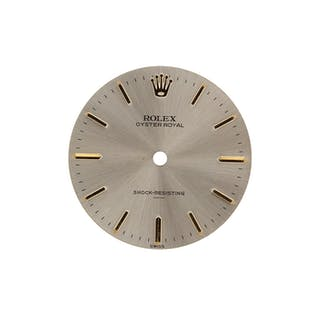 Very Rare Rolex Dial Shock Resistent Underline 34 mm manual winding