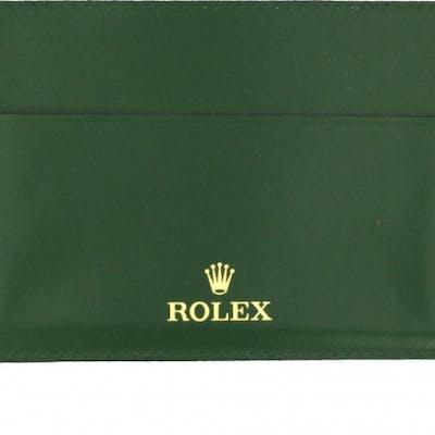 Rolex Parts & Accessories Brochure Leather Warranty Holder