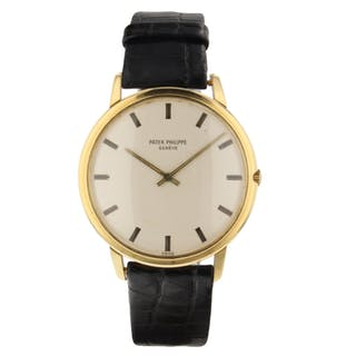 Patek Philippe Calatrava 18K Yellow Gold 35 mm Automatic Watch 3588 With Papers