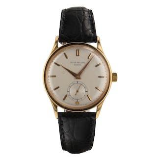 Patek Philippe Calatrava 36 mm 18K Rose Gold Manual Watch 570 Serpico & Laino