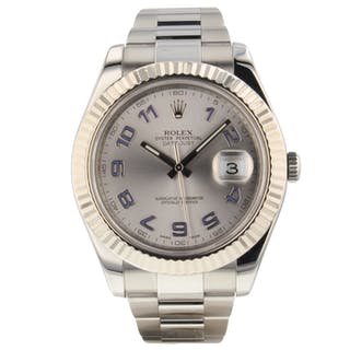 Rolex Mens Datejust II 41mm 116334 Very Good Condition Mens Watch