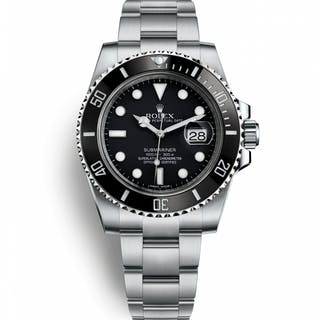 Rolex Submariner Date 116610LN-BK-NH Very Good Condition Mens Watch