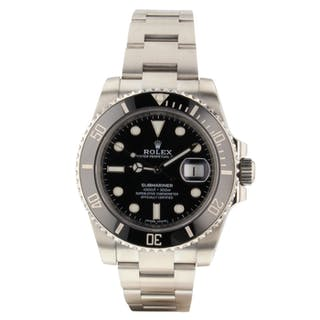Mint Rolex Submariner Steel Automatic Black Watch 116610 LN 2019 Papers Fresh