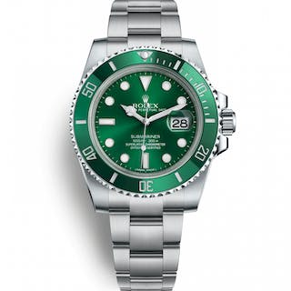 Rolex Submariner Date Hulk 116610V-G-NH Very Good Condition Mens Watch