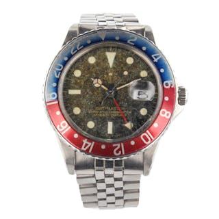 Rolex GMT Master Cornino Vintage Pepsi Bezel Automatic Mens Watch
