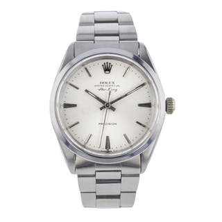 Rolex Mens Air King Precision Automatic Watch Very Good Condition