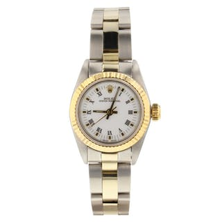 Rolex Oyster Perpetual Ladies No Date 67193 Very Good Condition Ladies Watch