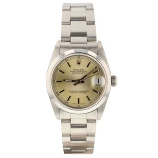 63f7f9223ed Rolex Datejust Midsize 31mm Steel Automatic Watch 68240 Circa 1991