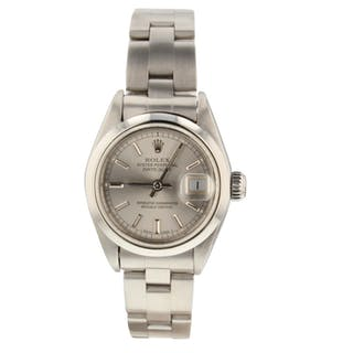 Rolex Ladies Datejust Steel Automatic 26 mm Watch 69160 Circa 1991 X Series