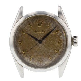 Rolex Oyster Precision Vintage Patina Look 6480 Mens Watch