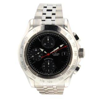 Rolex Tudor Chronautic Chronograph 79380P Very Good Condition Mens Watch