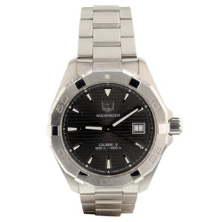 Tag Heuer Aquaracer 300M Automatic Guilloche Dial 40.5 mm Watch WAY2113.BA0928