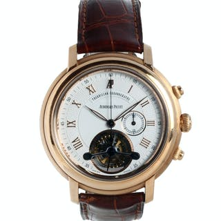 Audemars Piguet Jules Audemars Tourbillon Chronograph 25909OR.O.002CR