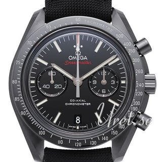 Omega Speedmaster Moonwatch Co-Axial Chronograph 44.25mm Dark Side