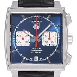 TAG Heuer Monaco Calibre 12 Automatic Chronograph Steve McQeen CAW2111.FC6183
