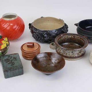PARTI keramikskålar m.m.