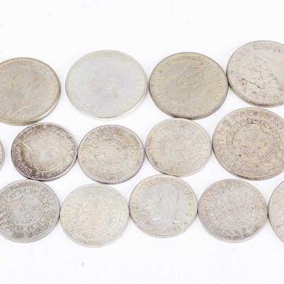 PARTI svenska silvermynt,.