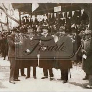 Lot of two photographs from the II Mille Miglia in 1928: