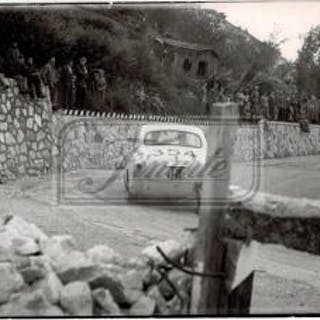 Lot of thirtheen photographs from the XXIII Mille Miglia in 1956: