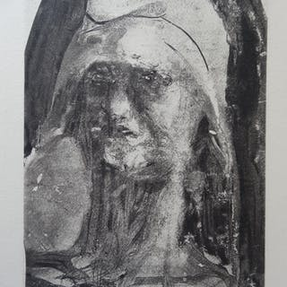 Auguste RODIN (After) - Freedom, 1897, print on Vellum paper