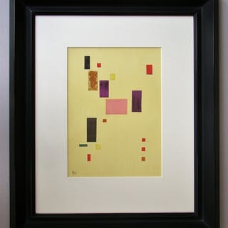 WASSILY KANDINSKY (after) - Lithograph in colours - Composition - 1953