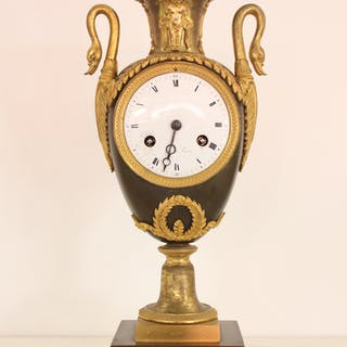 French Empire Urn Clock