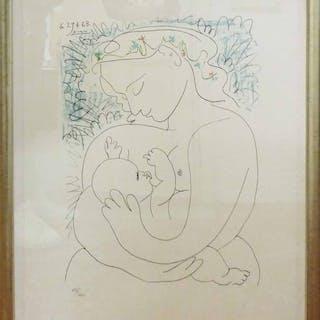 PABLO PICASSO \'Maternité\' – Current sales – Barnebys.co.uk