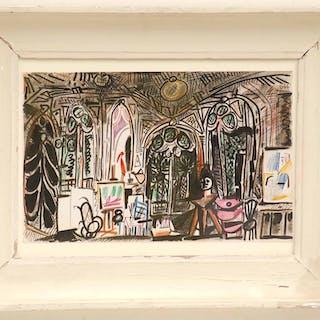 PABLO PICASSO 'L'Atelier de Picasso'