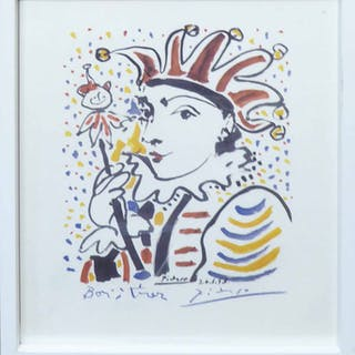 AFTER PABLO PICASSO 'Jester'
