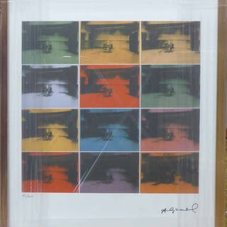 ANDY WARHOL 'Electric chair'