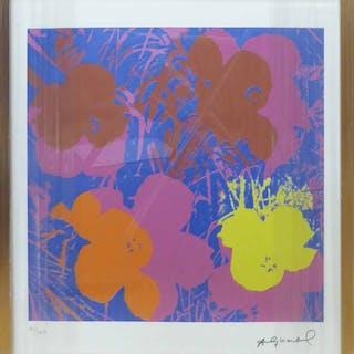 ANDY WARHOL 'Flowers'