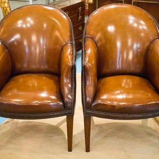 LIBRARY TUB ARMCHAIRS