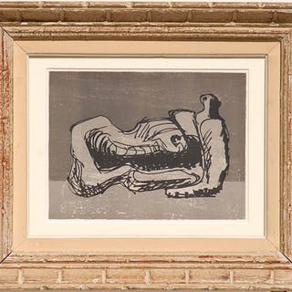 HENRY MOORE 'Reclining Figures'
