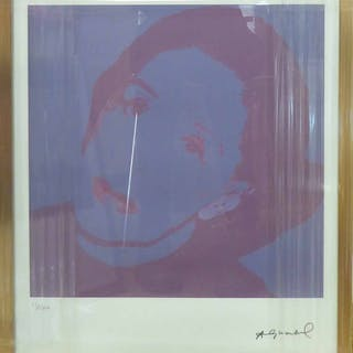 ANDY WARHOL 'Woman's portrait'