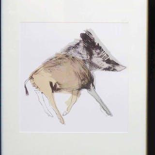 DAME ELISABETH FRINK 'Wild Boar'