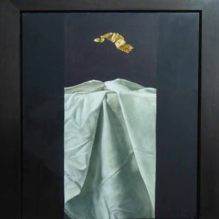 PETER G. CLARKE 'Gold Leaf in Freefall'