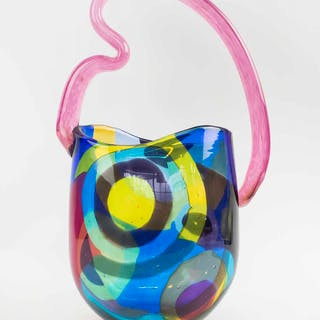 DOROTHY HAFNER GLASS 'ARABESQUE'