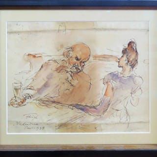 FREDERICK FEIGL (German 1884-1965) 'Verlaine'