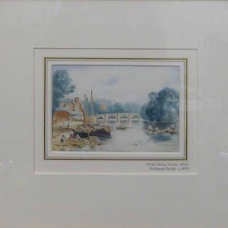MYLES BIRKET FOSTER RWS (1825-1899) 'Richmond Bridge'