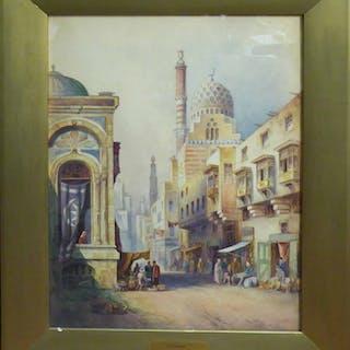 CHARLES JAMES KEATS RBA (British b.1867) 'Cairo'
