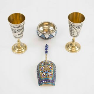 ANTIQUE RUSSIAN SILVER