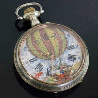 AN ANTIQUE GOLIATH POCKET WATCH