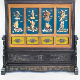 A CHINESE TABLE SCREEN