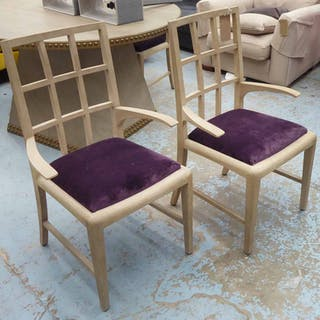 JULIAN CHICHESTER HAROLD CARVER CHAIRS