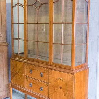 DISPLAY CABINET ON STAND
