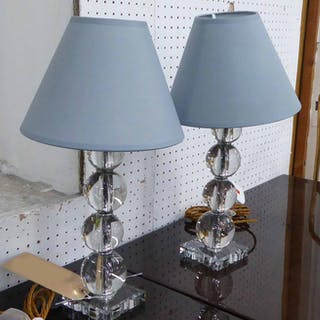 BACCARAT TABLE LAMPS