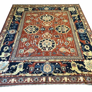 SAFAVID DESIGN SOUMAK CARPET