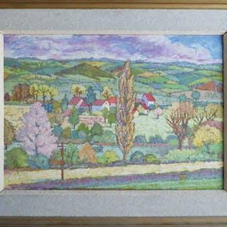 DANUTA DOLESKI 'Impressionist landscape'