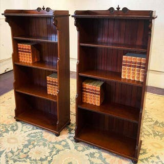 WATERFALL BOOKCASES